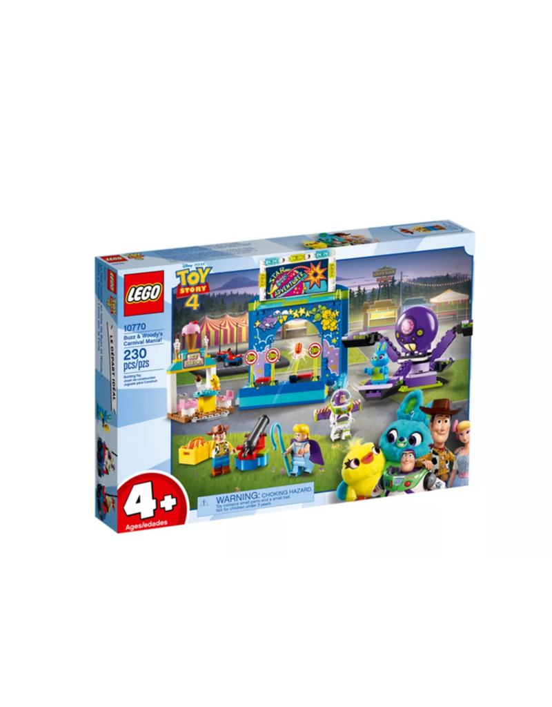 LEGO LEGO Toy Story 4: Buzz & Woody's Carnival Mania!