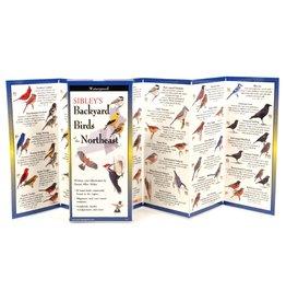 Earth Sea Sky Waterproof Guide - Sibley's Backyard Birds of the Northeast