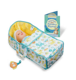 Melissa & Doug Doll Bassinet Play Set
