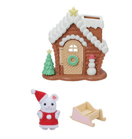 Epoch Calico Critters Gingerbread Playhouse