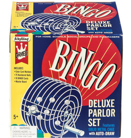 Schylling Toys Game Bingo Deluxe Parlor Set