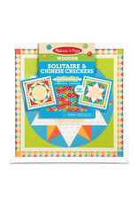 Melissa & Doug Solitaire & Chinese Checkers