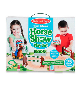 Melissa & Doug Train & Jump Horse Show Play Set