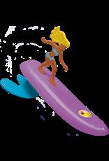 TOYosity LLC Surfer Dudes - Aussie Alice (Purple)