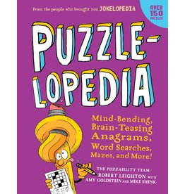 Workman Publishing Co Puzzle Book - Puzzlelopedia