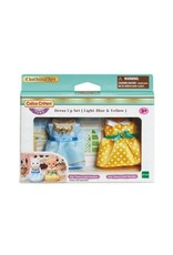 Epoch Calico Critters Town - Dress Up Set (Light Blue & Yellow)