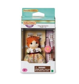 Epoch Calico Critters Town Girl Series - Miranda Maple Cat