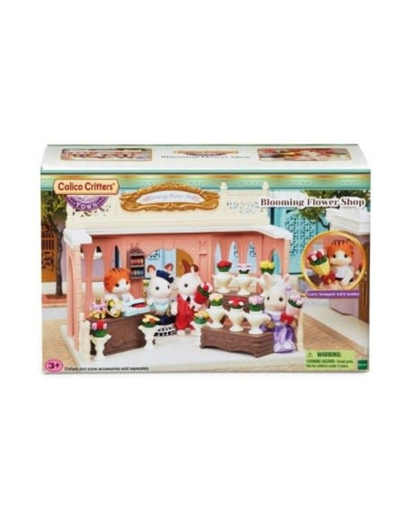 Epoch Calico Critters Town - Blooming Flower Shop