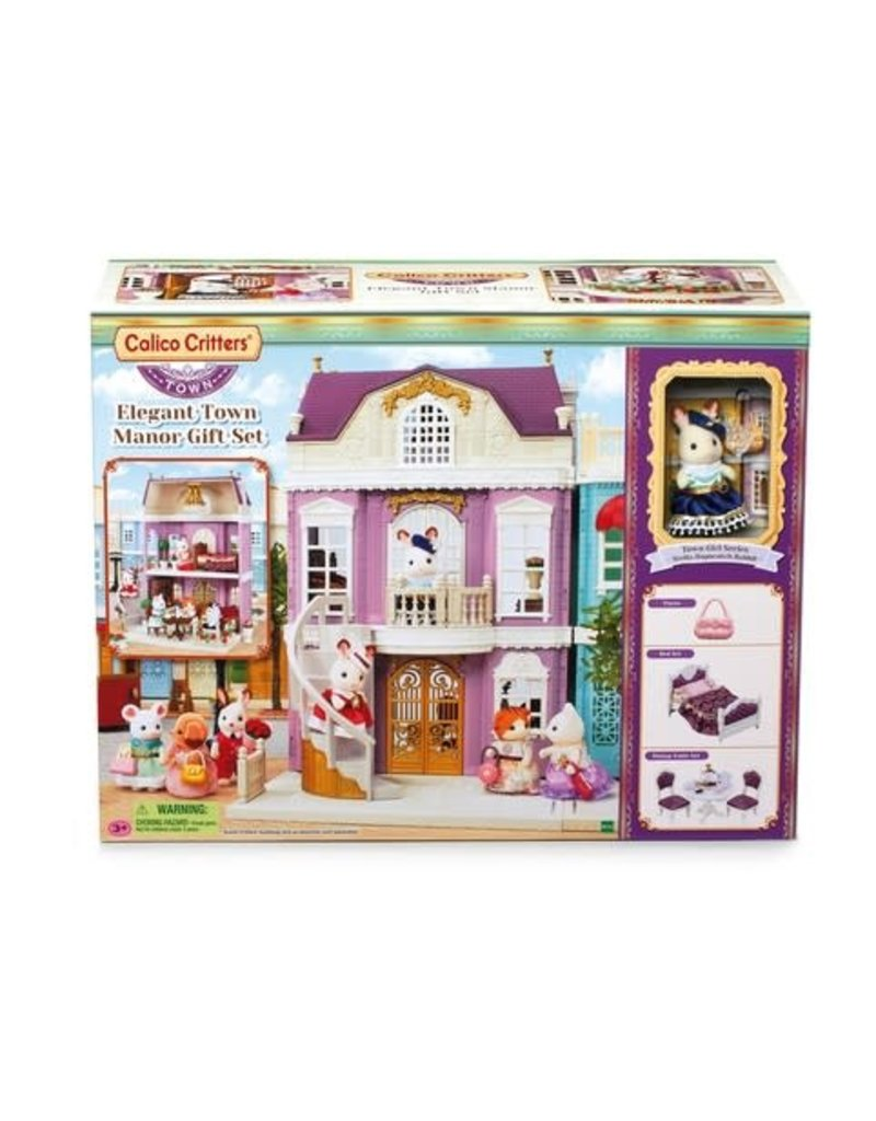 Epoch Calico Critters Town - Elegant Town Manor Gift Set