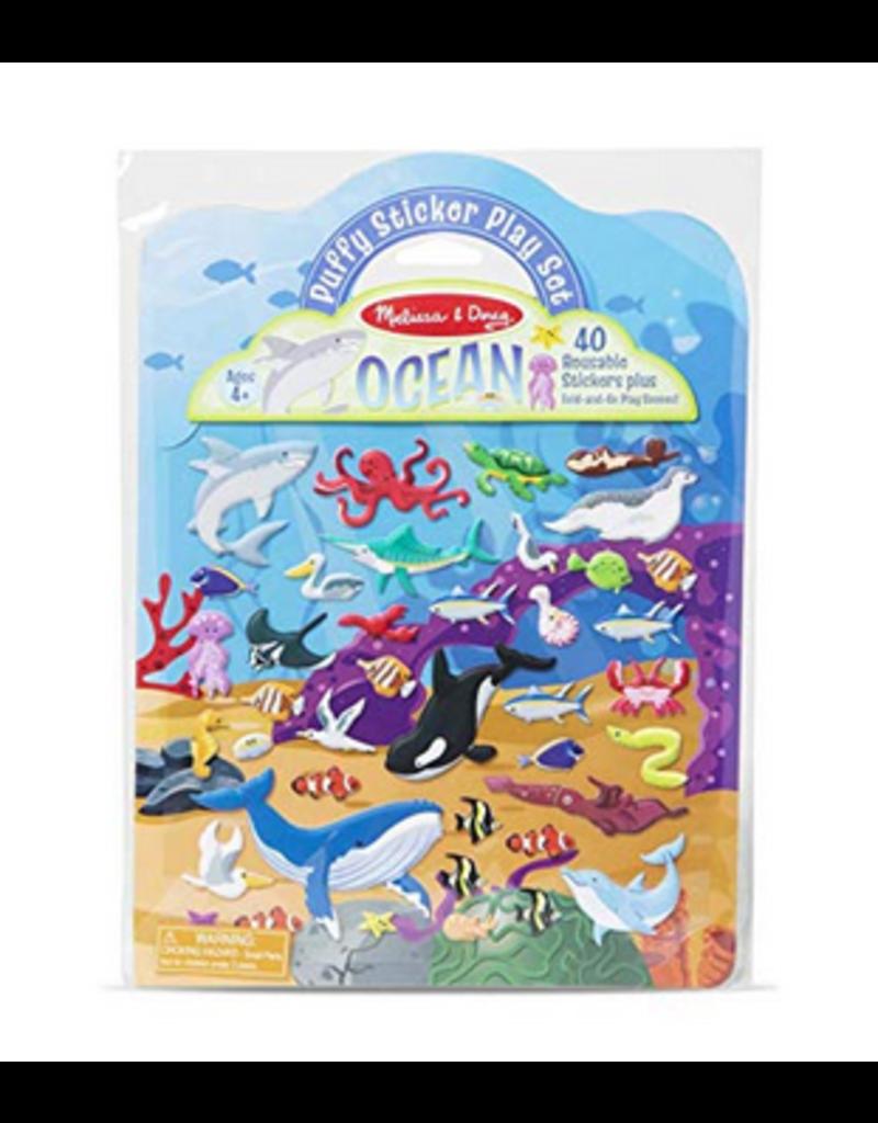 Melissa & Doug Puffy Sticker Play Set - Ocean
