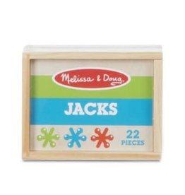 Melissa & Doug Game Wooden Box of Jacks