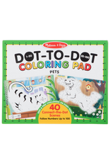 Melissa & Doug 123 Dot-to-Dot - Pets Coloring Pad