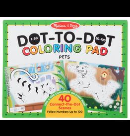 Melissa & Doug 123 Dot-to-Dot - Pets Coloring Pad
