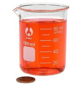 Bomex Glass Beaker 100 mL