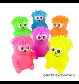 "Rhode Island Novelty 5"" Hairdo Bear Puffer (Assorted Colors)"