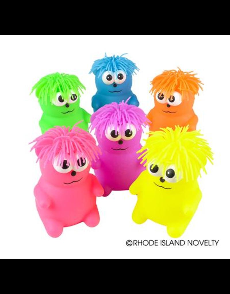 "Rhode Island Novelty 5"" Puffer Hairdo Bear (Assorted Colors)"