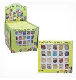 GeoCentral Gemstone Selection Box (20 Gemstones)