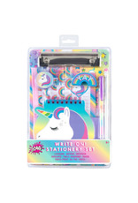 3 Cheers for Girls Unicorn Write On! Stationery Set