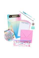 3 Cheers for Girls 3C4G Write On Clipboard Set - Good Vibes