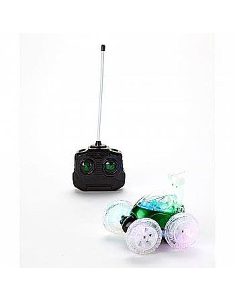 Mindscope Products Turbo Twisters Stunt LED RC Car - Green (49 Mhz)