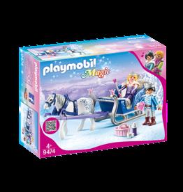 Playmobil Playmobil Magic: Sleigh with Royal Couple