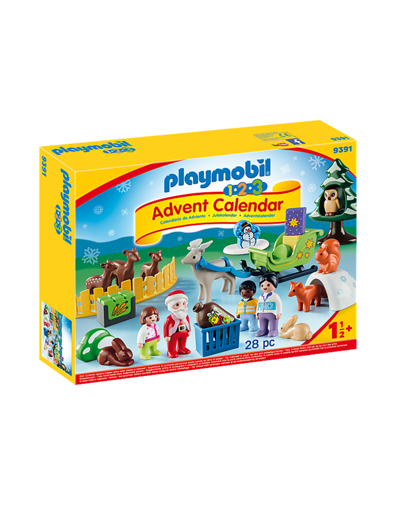 Playmobil Playmobil 1.2.3 Advent Calendar: Christmas in the Forest