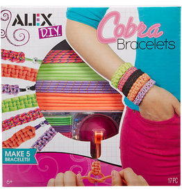 Alex Brands Craft Kit Do It Youself Cobra Bracelets