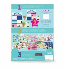 Ann Williams Group Craft Tastic Jr Wall Sticker Playhouse