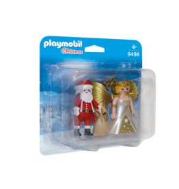 Playmobil Playmobil Santa and Christmas Angel