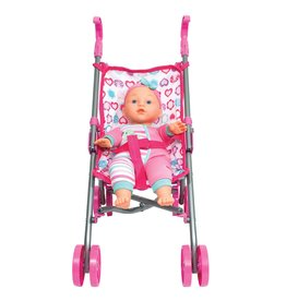 Family Games America Dream Collection Baby Doll W/ Stroller