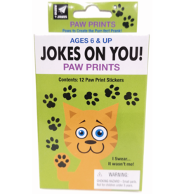 Reeve + Jones Jokes on You! Paw Prints