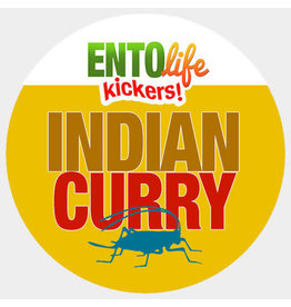 Ento Life Kickers! Indian Curry Roasted Crickets Snack