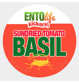 Ento Life Kickers! Roasted Crickets Snack - Sun Dried Tomato