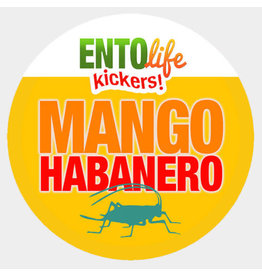 Ento Life Kickers! Roasted Crickets Snack - Mango Habanero