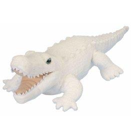 Wild Republic Plush White Aligator