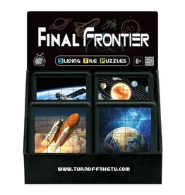 Family Games America Sliding Tile Puzzles - Final Frontier - Earth