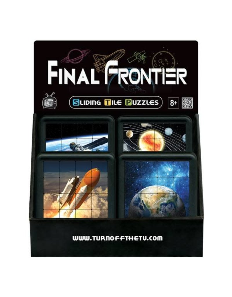 Family Games America Sliding Tile Puzzles - Final Frontier - Space Station