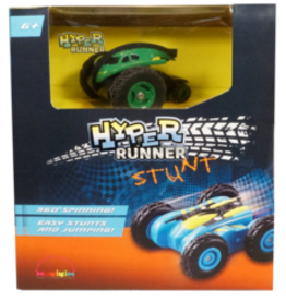 Mukikim Hyper Runner Stunt - Green