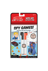 Melissa & Doug On-the-Go! Spy Games! Wipe-Off Activity Pad