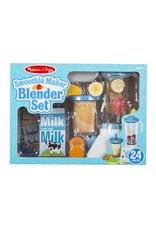 Melissa & Doug Play Food - Smoothie Maker Blender Set