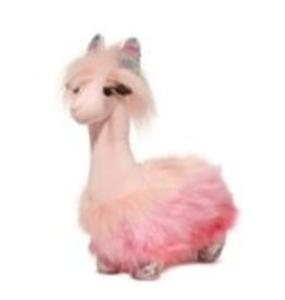 Douglas Plush Sakura Pink Llama Fuzzle