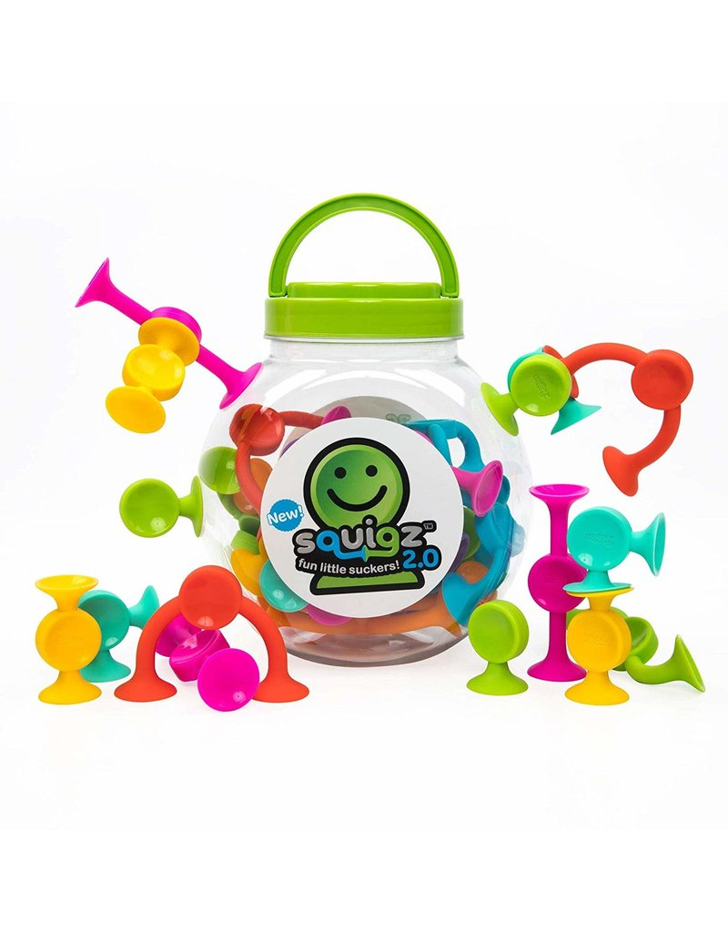 Fat Brain Toys Squigz 2.0 - 36 Pieces