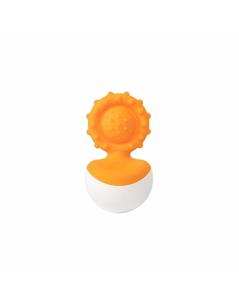 Fat Brain Toys dimpl wobbl - Orange