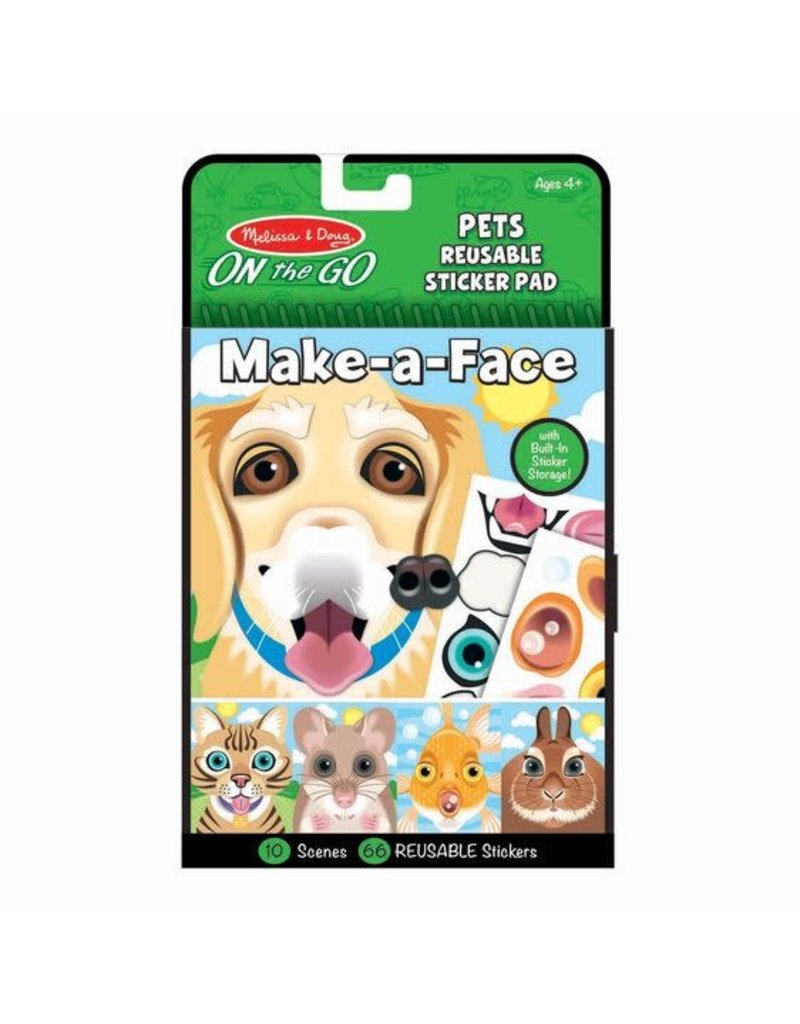 Melissa & Doug On-the-Go Make-A-Face - Pets