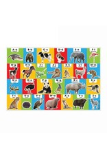 Melissa & Doug Floor Puzzle - Animal Alphabet - 24 Piece
