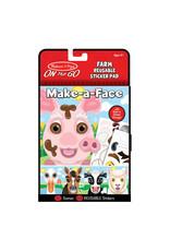Melissa & Doug On-the-Go - Make-A-Face - Farm