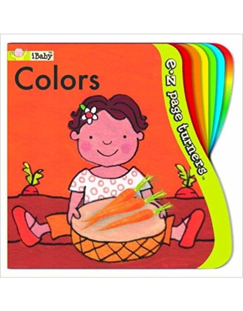 Melissa & Doug Baby Books EZ Page Turners - 4 Books (Colors, Counting, Shapes, Mommies & Babies)