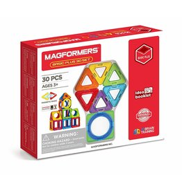 Elenco Magformers Basic Plus 30 Set - Rainbow Colors