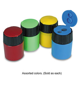 The pencil Grip Art Supplies - Pencil Sharpener with Lid