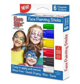 The pencil Grip Face Paint Stix - 6 pack